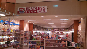 Bradley's Book Outlet storefront at the Galleria at Pittsburgh Mills