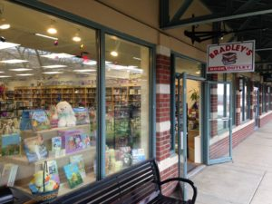 Bradley's Book Outlet storefront at Grove City Outlets
