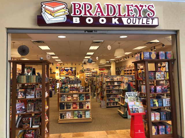 Bradley's Book Outlet storefront at Nittany Mall, State College